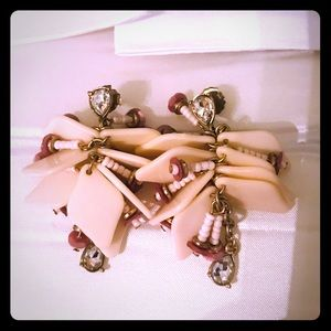 Statement earrings by Belle by Badgley Mischka